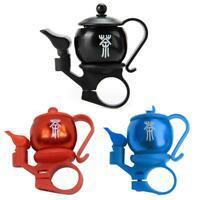 Mountain Bike Bell Aluminum Bicycle Accessories Innovative Teapot-shape Bells