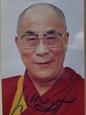 Dalai Lama, Tibet, China, Autogrammkarte, 10 x 15 cm, Religion, Oberhaupt