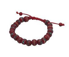 Tibetan Embedded Yak Bone Medicine Wrist Mala Bracelet Meditation Healing Beads
