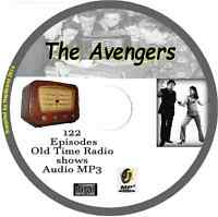 The Avengers - 122 OTR Old Time Radio Episodes Audio MP3 on CD