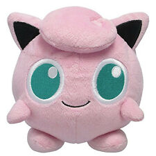 "GREAT GIFT - Sanei Pokemon Series PP02 Jigglypuff 5"" All Star Stuffed Plush Doll"