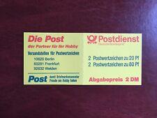 GERMANY BRD FRD BOOKLET MNH POSTDIENST DIE POST 2 DM YELLOW