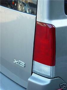 04-07 SCION XB TAIL LIGHT PRECUT REDOUT TINT COVER RED OVERLAYS