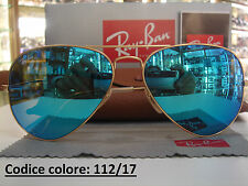 Occhiali da sole da donna aviator Ray-Ban e mantatura in metallo