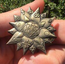 Lotus Light Of Truth Sacred Geometry Hat Pin