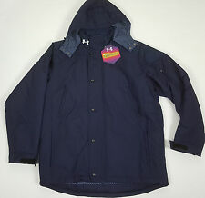 UNDER ARMOUR COLDGEAR INFRARED ELEMENT HOODED JACKET NAVY BLUE $200 (SIZE XL)