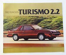 1982 Plymouth Turismo 2.2 Sales Brochure
