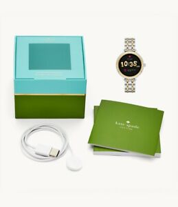 REFURBISHED kate spade new york touchscreen smartwatch scalloped two-tone