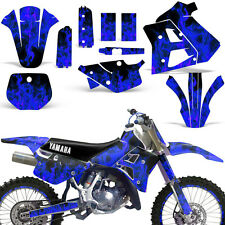 Yamaha Graphic Kit WR 250Z Dirt Bike Decal w/ Backgrounds WR250Z 1991-1993 ICE U