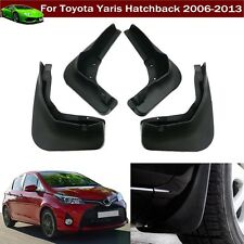 4 Car Mud Flap Splash Guard Fender Mudguard For Toyota Yaris Hatchback 2006-2013
