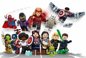 LEGO MARVEL STUDIOS Box Case of 36 Collectible Minifigures 71031