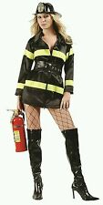RG Costumes 81491 Fire Fighter Black (Standard;Small)