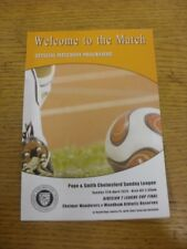 12/05/2015 Chelmsford Sunday League Division 2 Cup Final: Chelmer Wanderers v Wo