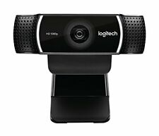 Logitech 1080p Pro Stream Webcam for HD Video Streaming Recording 1080p 30FPS