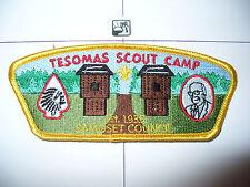 CSP Samoset Council,SA-?, Tesomas Scout Camp,Fort Gate, OA 96, Tom Kita Chara,WI
