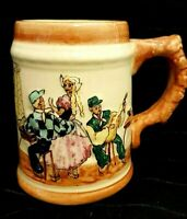 Vintage Essexware mug 1950's Signed by Beverley Bray