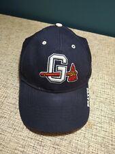 Gwinnett Braves Strapback Hat Cap 47 Brands Authentic Home Adjustable blue