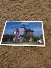 Vtg Postcard WA Port Townsend Starrett Pink Victorian House 1980s