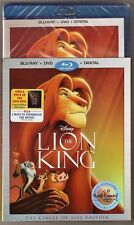 Authentic Disney The Lion King Blu-ray + DVD + Digital Signature Collection