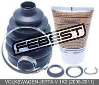 Boot Outer Cv Joint Kit 86.1X114.3X25.9 For Volkswagen Jetta V 1K2 (2005-2011)