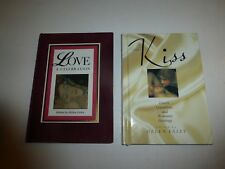2 Lot by Helen Exley,Love, a Celebration and The Kiss,Lover's Quotations, HBs136
