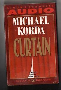 Curtain by Michael Korda (1991, Audio Cassette)
