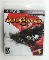 PS3 God of War III 3 (Sony PlayStation 3, 2010) No Manual Tested