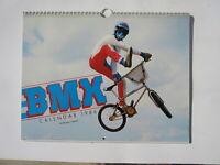 BMX bike Calendar 1986 Old school