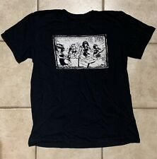 The Darts Us Garage Punk Band Original-lineup Cartoon T-shirt, Size Medium