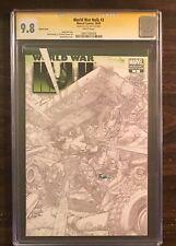 World War Hulk #3 CGC 9.8 signed by David Finch variant cover Romita Jr art