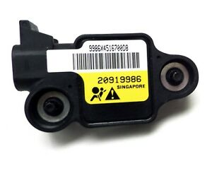Air Bag Side Impact Sensor Rear Right S D 2008-2014 Chevrolet Express GMC Savana