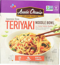 Annie Chun's Teriyaki Noodle Bowl - 7.8 Oz. Each Asian Cuisine -Case Of 6 Bowls