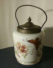 Vintage porcelain biscuit jar