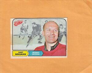 1968-69 O PEE CHEE GARY BERGMAN NO:25  v g cond  see scan     LOT 266