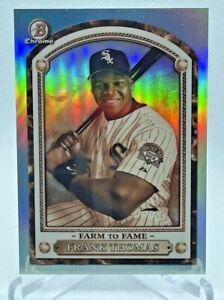 2020 Bowman Chrome Frank Thomas Farm to Fame Insert Case Hit Refractor White Sox