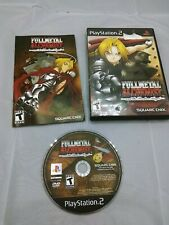 Ps2 FullMetal Alchemist and the Broken Angel COMPLETE Good Condition - TESTED-