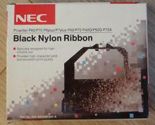 NEC Pinwriter P60/P70 P6Plus/P7Plus P62/72 P42Q/P52Q P72X Black Nylon Ribbon