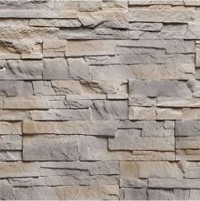 Stacked Stone TAURUS - Stone Cladding Tiles, Stone wall decor, Split Face Stone