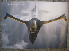 "Poster RNLAF (KLu) F-16 Solo Display 2008 Captain Ralph ""Sheik"" Aarts"