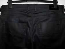 DIESEL TEPPHAR SLIM-CARROT FIT JEANS COATED STYLE 0844H W32 L32 (4328)