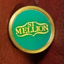 St Mellion Golf Club Ball Marker (Vintage Brass)