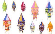 12 PC Wholesale Lot Lamp Shade Lightning Vintage Indian Cotton Lamps Decor Boho
