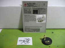 """Axis & Allies Reserves Sd Kfz 303 """"Goliath"""" with card 31/45"""