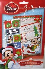 Disney My Holiday Wish List 6 Letters Stickers Mickey Mouse Christmas Wish List