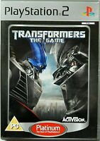 Transformers: The Game (Sony PlayStation 2, 2007, PAL) PS2