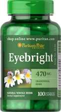 Eyebright 470 mg x 100 Rapid Release Capsules COLDS / ALLERGIES / COUGH