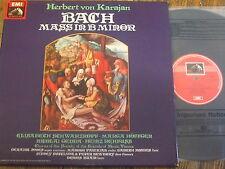 RLS 746 Bach Mass in B minor / Karajan etc. 3 LP box