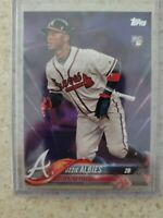 2018 Topps series 1 Ozzie Albies #276 PURPLE PARALLEL RARE ROOKIE INVESTMENT 🔥