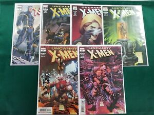 UNCANNY X-MEN (2019) Annual 1 2nd print 17 19-22 NM 6 ISSUE COMIC LOT
