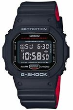 G-Shock DW-5600 Black/Red Layer Series BLack - Black / One Size